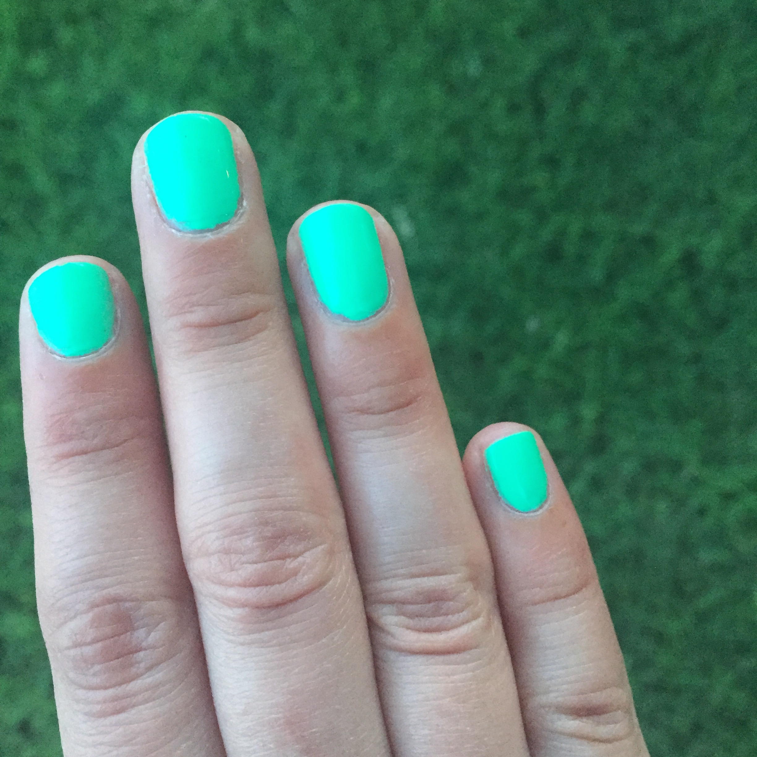 Neon Nail Polish: Age of Aquarius by Color Club